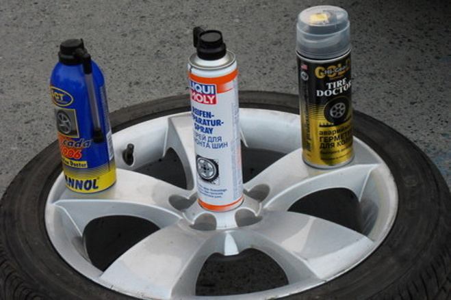 Как сделать герметик для шин